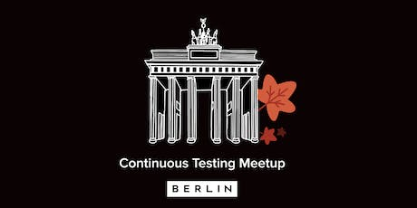 Continuous Testing Meetup - AI in Test Automation tickets