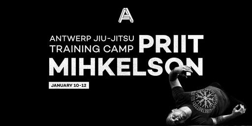 Antwerp Jiu-Jitsu's training camp with Priit Mihkelson