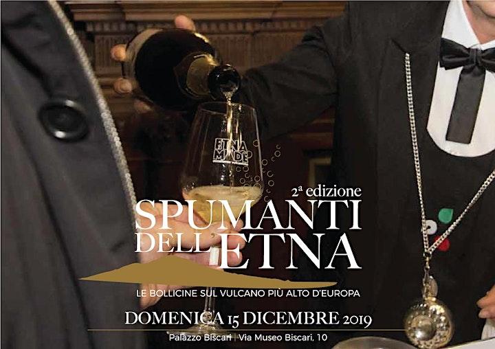 Immagine Spumanti dell'Etna 2a edizione Domenica 15 dicembre Palazzo Biscari