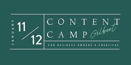 Content Camp   Gilbert   Business Owner Day tickets