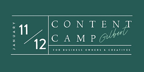 Content Camp | Gilbert | Business Owner Day tickets
