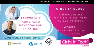 Girls in Cloud ekspertki chmury!  Azure, czyli przygotowanie do AZ-900!