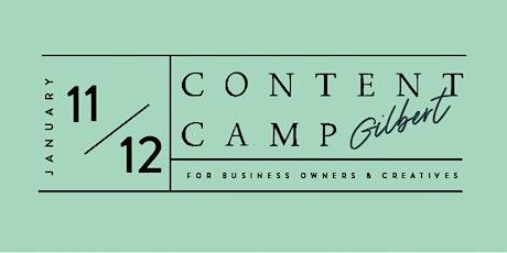 Content Camp | Gilbert | Creatives Day tickets