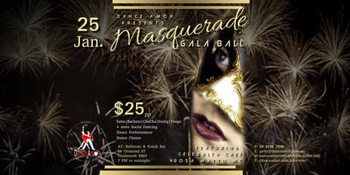 Masquerade Gala Dance Ball