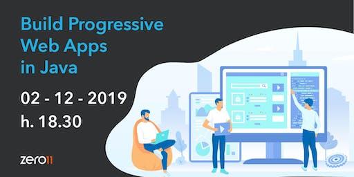Build Progressive Web Apps in Java