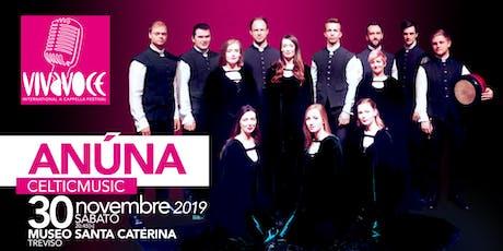 VivaVoce Festival 2019 - l'arte del canto a cappella - ANUNA biglietti
