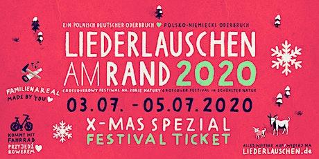 Liederlauschen am Rand  - Festival 2020 - Ein polnisch deutscher Oderbruch Tickets