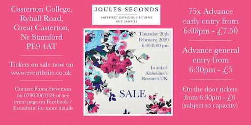Joules Seconds Sale