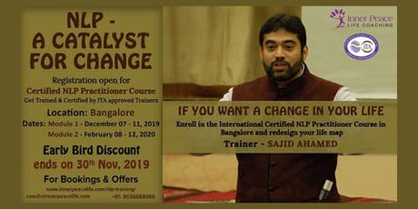 NLP Events in Garden City of India | Inner Peace Life Coaching tickets