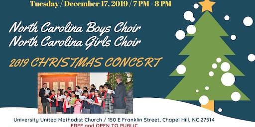 North Carolina Boys Choir + North Carolina Girls Choir Christmas Concert