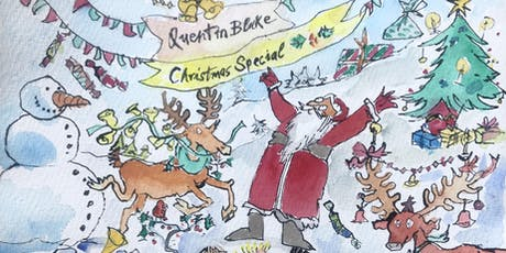 QUENTIN BLAKE: Christmas Card Special tickets