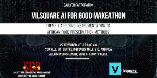 Vilsquare AI for Good Makeathon, Abuja