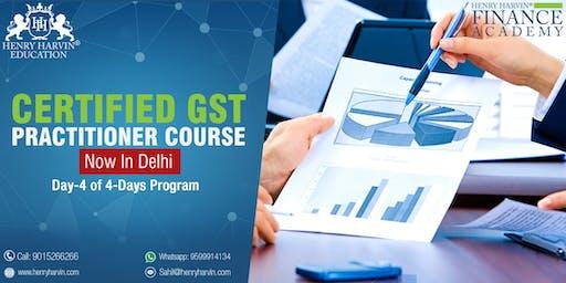 Day 4 GST Practitioner Course in Delhi