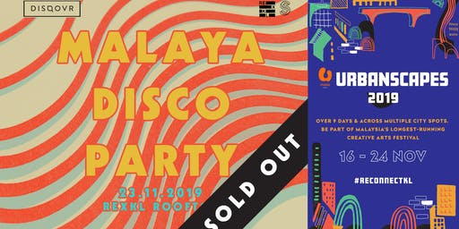 DISQOVR presents CreativeLabs: Malaya Disco Party