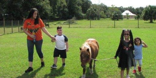 Moms and kids Farm Fun