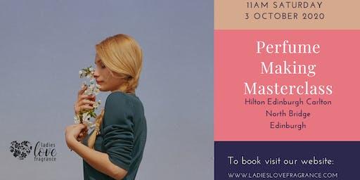 Perfume Making Masterclass - Edinburgh Saturday 3 October 11am