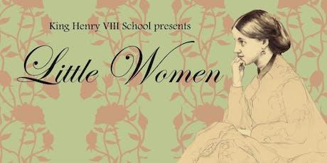 Little Women - Weds tickets