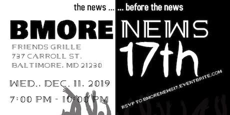 Bmorenews.com's 17th Anniversary tickets