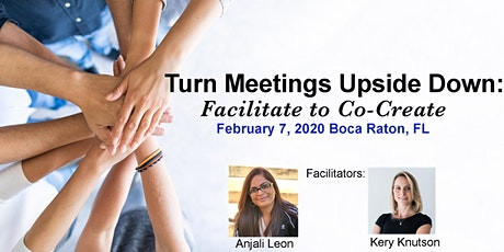 Turn Meetings Upside Down:  Facilitate to Co-create tickets