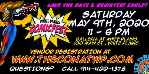 2020 White Plains ComicFest - IT'S TIME!