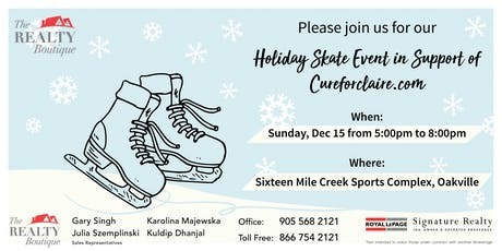 The Realty Boutique - Holiday Skate Event ! tickets