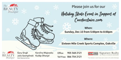 The Realty Boutique - Holiday Skate Event !