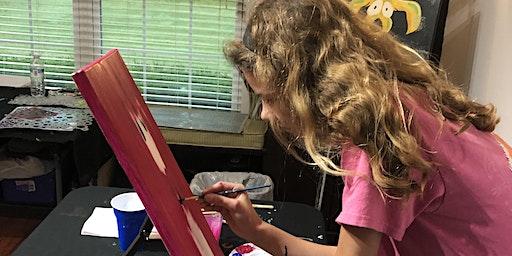 Jan./Feb. 2020 Single Class: Paint Experience with Naomi Shanti