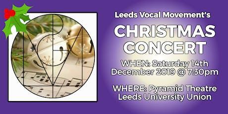 Leeds Vocal Movement Christmas Concert 2019 tickets