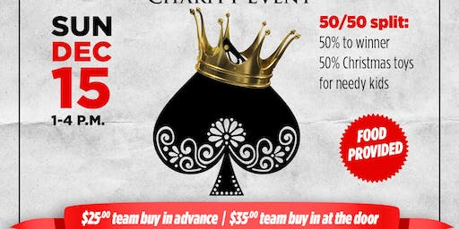 Brick House Realty Presents Spades Tournament Charity Event