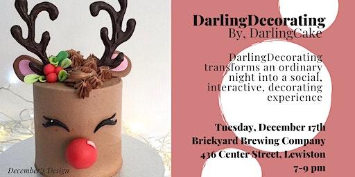 DarlingDecorating: A Social Cake Decorating Event