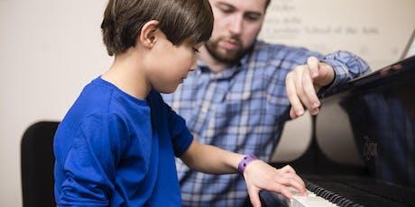 Community Music School Open House & Parent Orientation - FREE DEMO LESSONS tickets