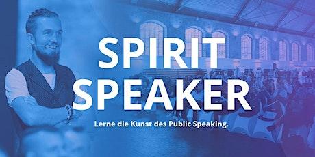 Spirit Speaker Tickets