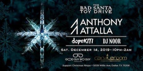 The Bad Santa Toy Drive tickets