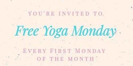 Free First Monday Yoga