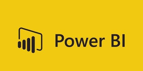 5 Weeks Microsoft Power BI Training in Canberra for Beginners tickets