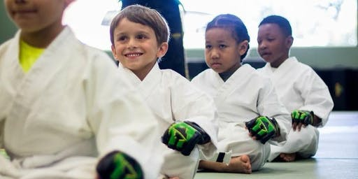 ***FREE*** Intro to Karate Workshop for KIDS Ages 5-12 - Martinez/Evans