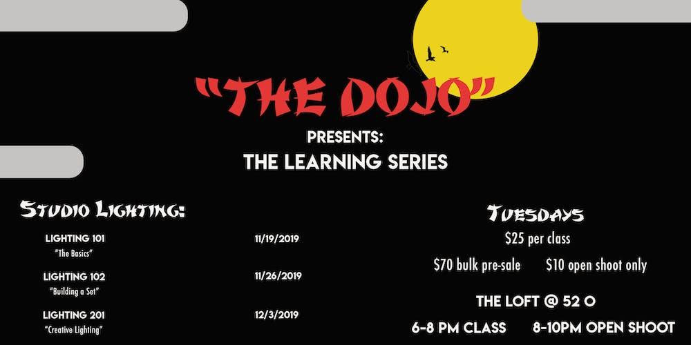 The Dojo Presents: Studio Photography Lighting Tickets, Tue