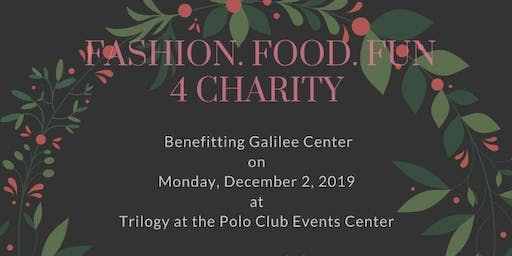 Fashion Show Supporting the Galilee Center