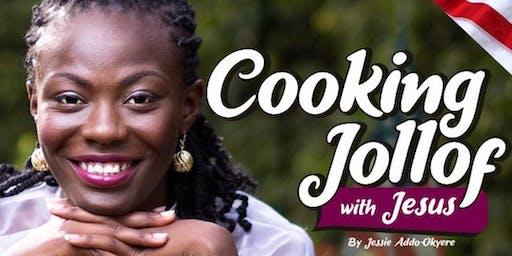 Cooking Jollof with Jesus Book Tour