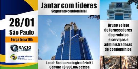 Jantar com líderes mercado condominial  28-01-2020 ingressos