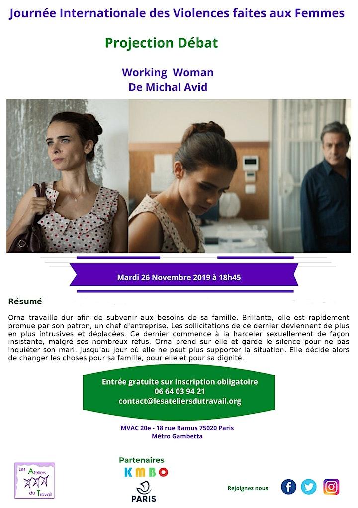 """Image pour Projection Débat - « Working Woman"""""""