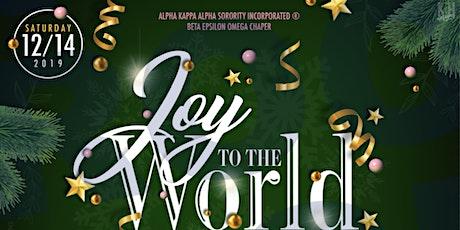 Joy To The World: A Beta Epsilon Omega Holiday Affair tickets