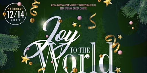 Joy To The World: A Beta Epsilon Omega Holiday Affair
