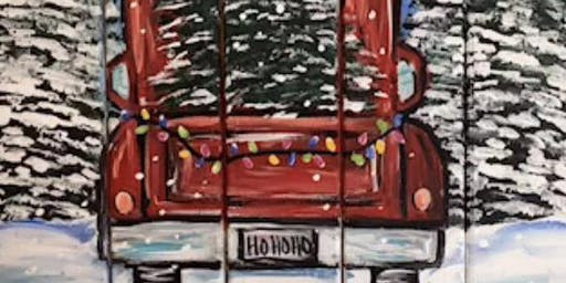 Christmas truck painters choice