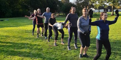 FREE Launch Day Outdoor Fitness Session