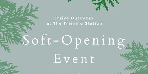 Soft-Opening of the Thrive Outdoors Leadership & Community Center