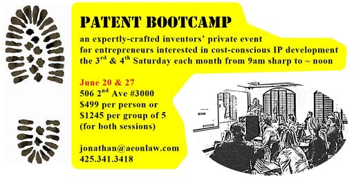 June Seattle Patent Bootcamp