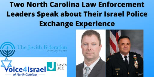 North Carolina Law Enforcement Leaders Speak about Their Israel Police Trip