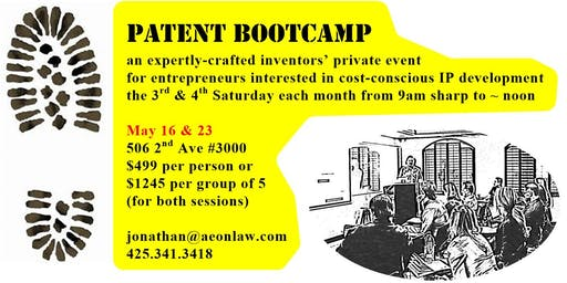 May Seattle Patent Bootcamp