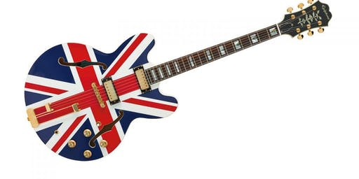 THE BRITISH INVASION - Tribute to British Rock Bands - Live Music Concert